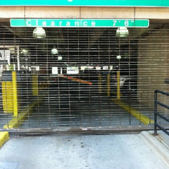 Commercial Door Repair | Central Parking After Photo