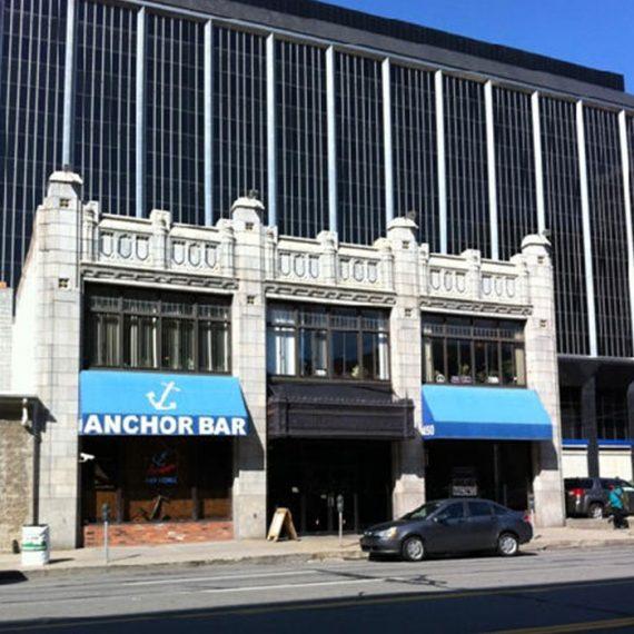 Commercial Door Installation | Anchor Bar Detroit Landmark