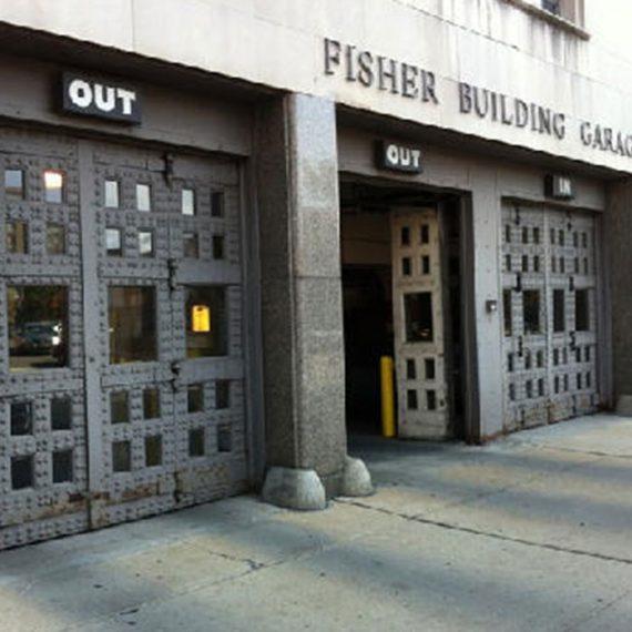 Commercial Door Installation | Fisher Building Heavy Duty Doors