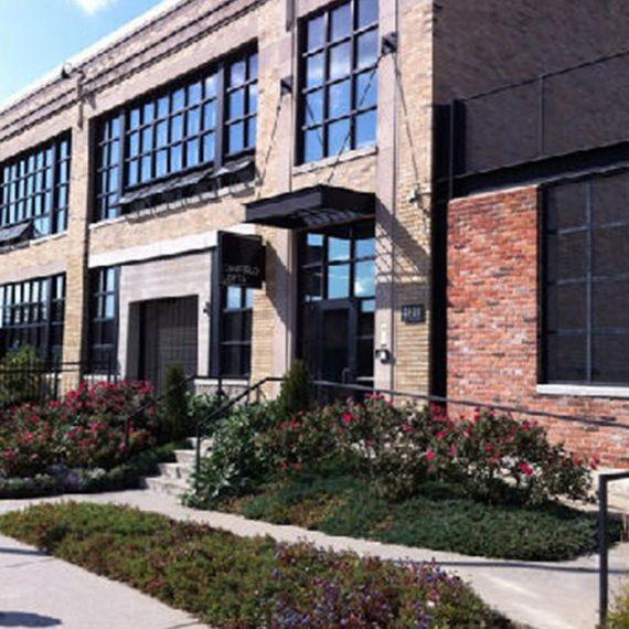 Commercial Door Installation | Canfield Lofts Secure Doors