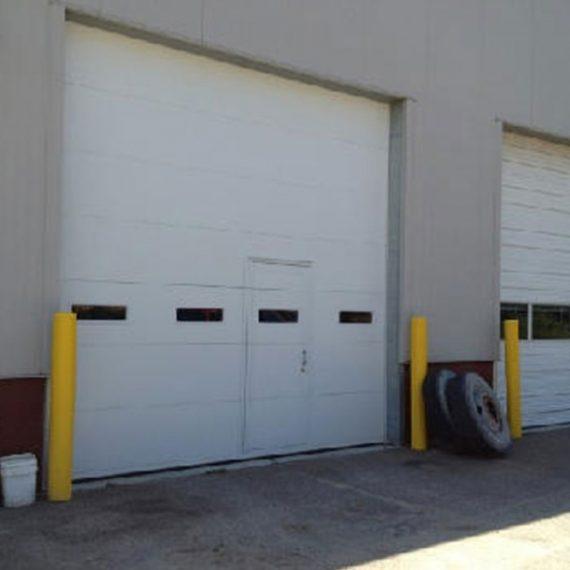 Commercial Door Installation | Lincoln Schools Warren MI. Sectional Garage  Doors