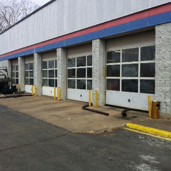 Commercial Door Installation | Firestone Before