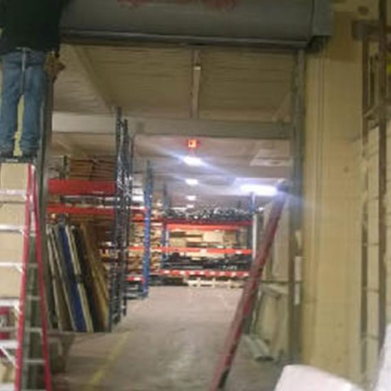 Commercial Door Installation | A&M Hospitality Before