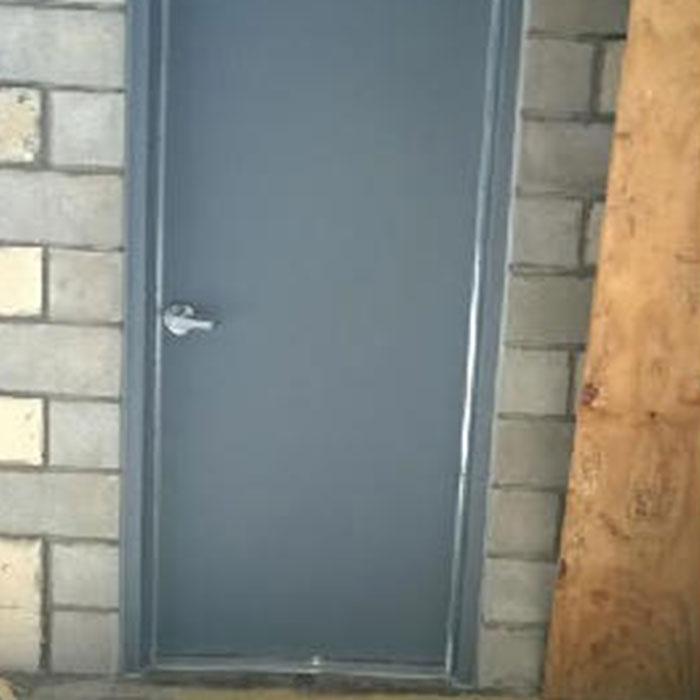 Commercial Door Installation | Club Royale Hollow Metal Door & Commercial Door Installations | Overhead Door West Projects
