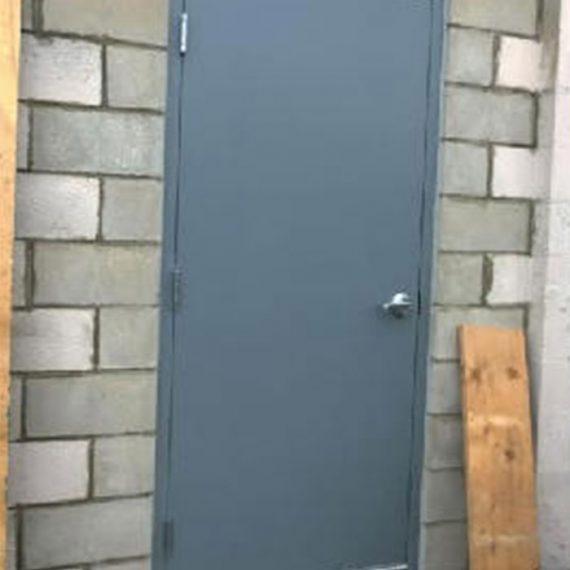 Commercial Door Installation | Club Royale Hollow Metal Door