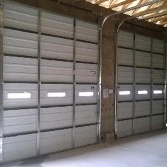 Commercial Door Installation | Hamtramck Salt Storage