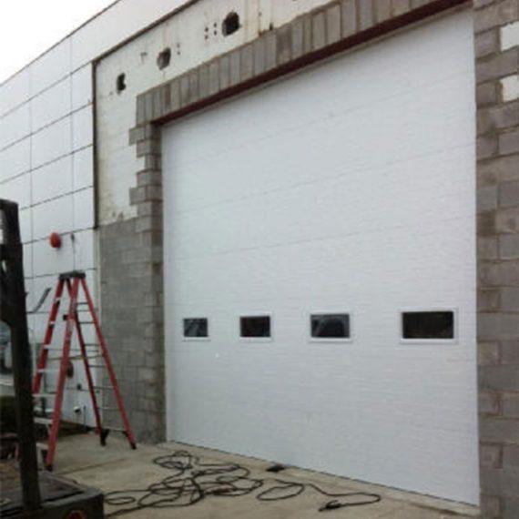 Amazing Commercial Door Installation | Enterprise Truck Center Warren, MI.  Sectional Garage Doors