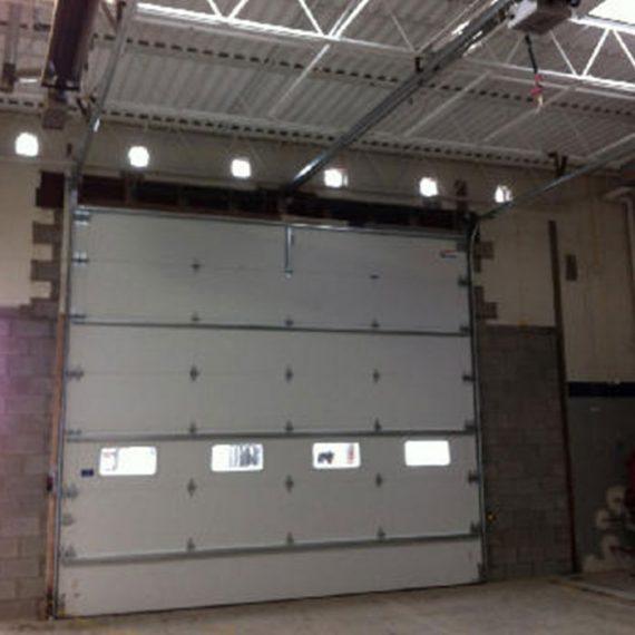 Commercial Door Installation | Enterprise Truck Center Warren, MI.  Sectional Garage Doors