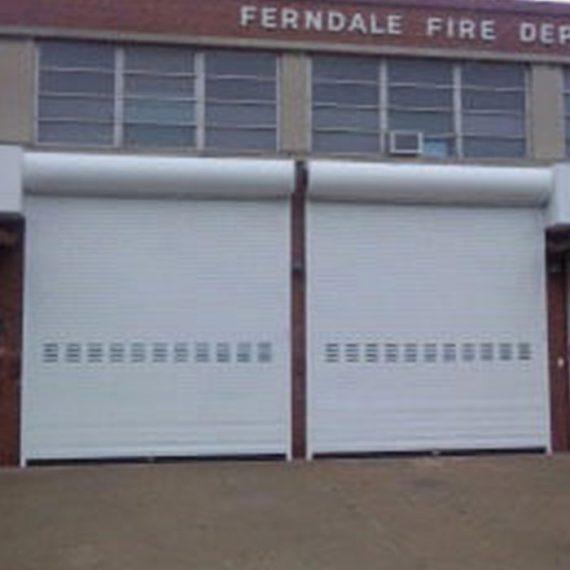 Commercial Door Installation | Ferndale Fire Department Ferndale, MI